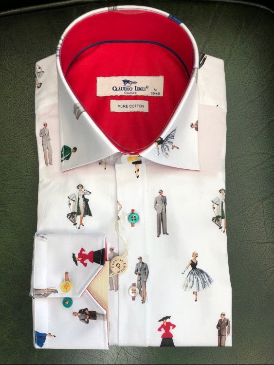Claudio Lugli - Proper Ladies and Gentleman Long Sleeve Shirt