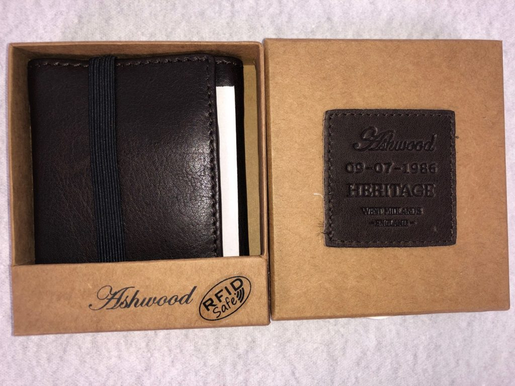 Ashwood Leather - Small Brown Leather Wallet
