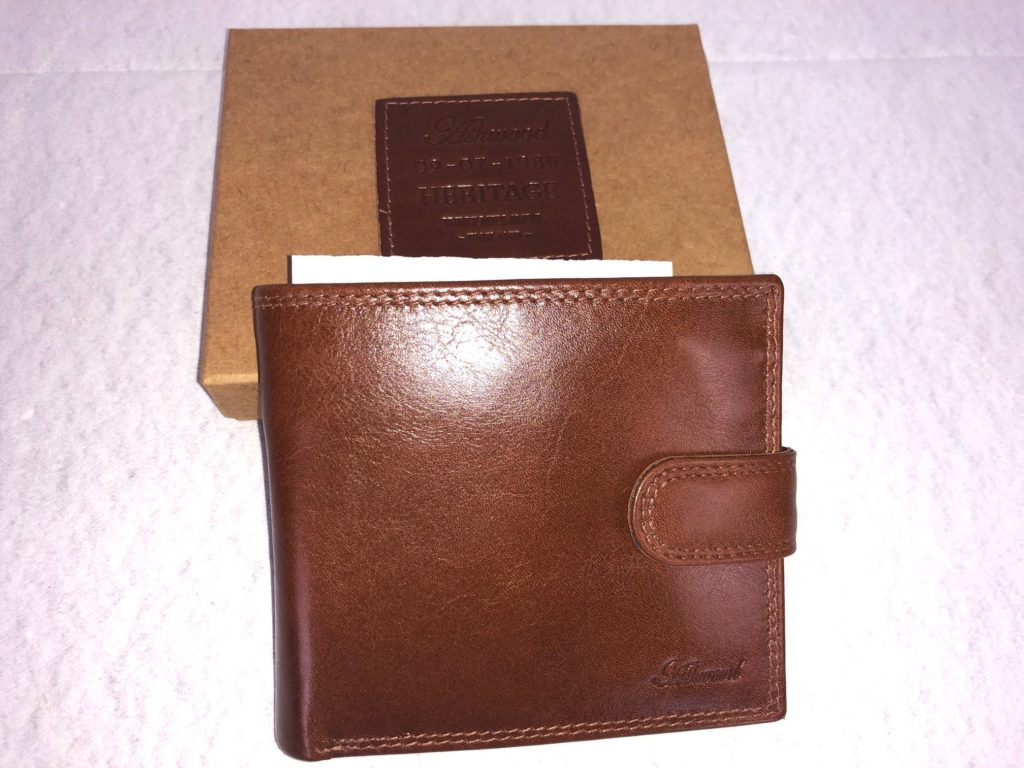 Ashwood Leather Tan Leather Wallet