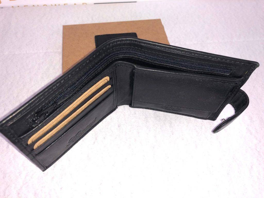 Ashwood Leather - Black Leather Wallet