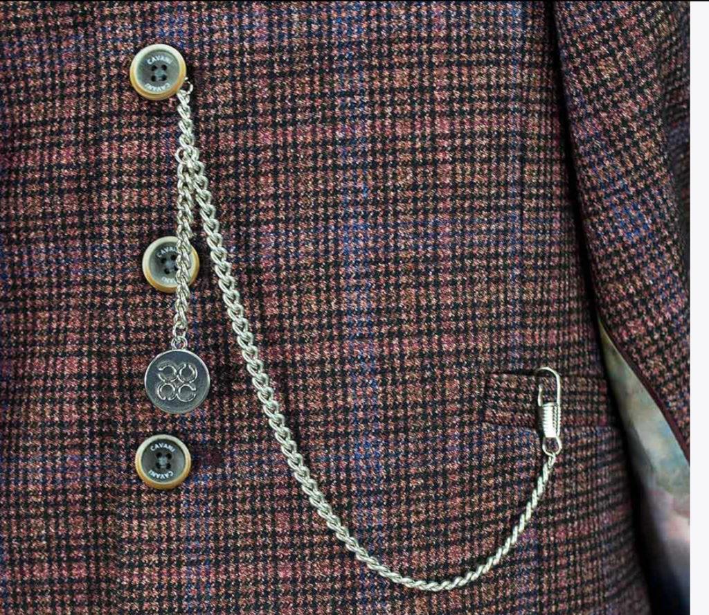 Cavani - T Bar Pocket Watch Chain
