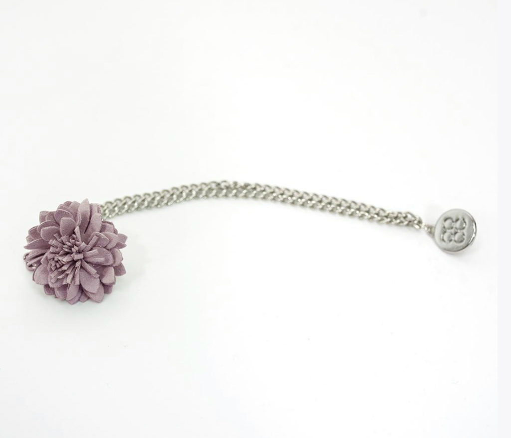 Cavani Flower Chain Lapel Pins