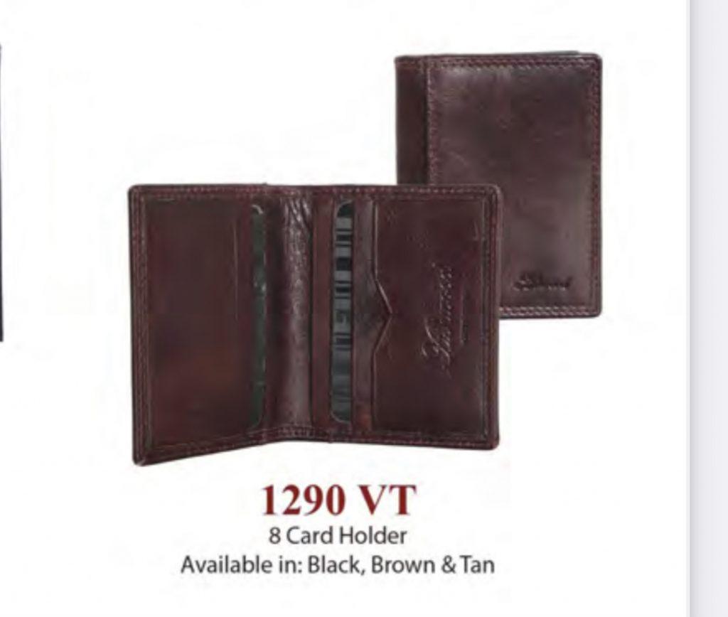Ashwood Leather 8 Card Holder