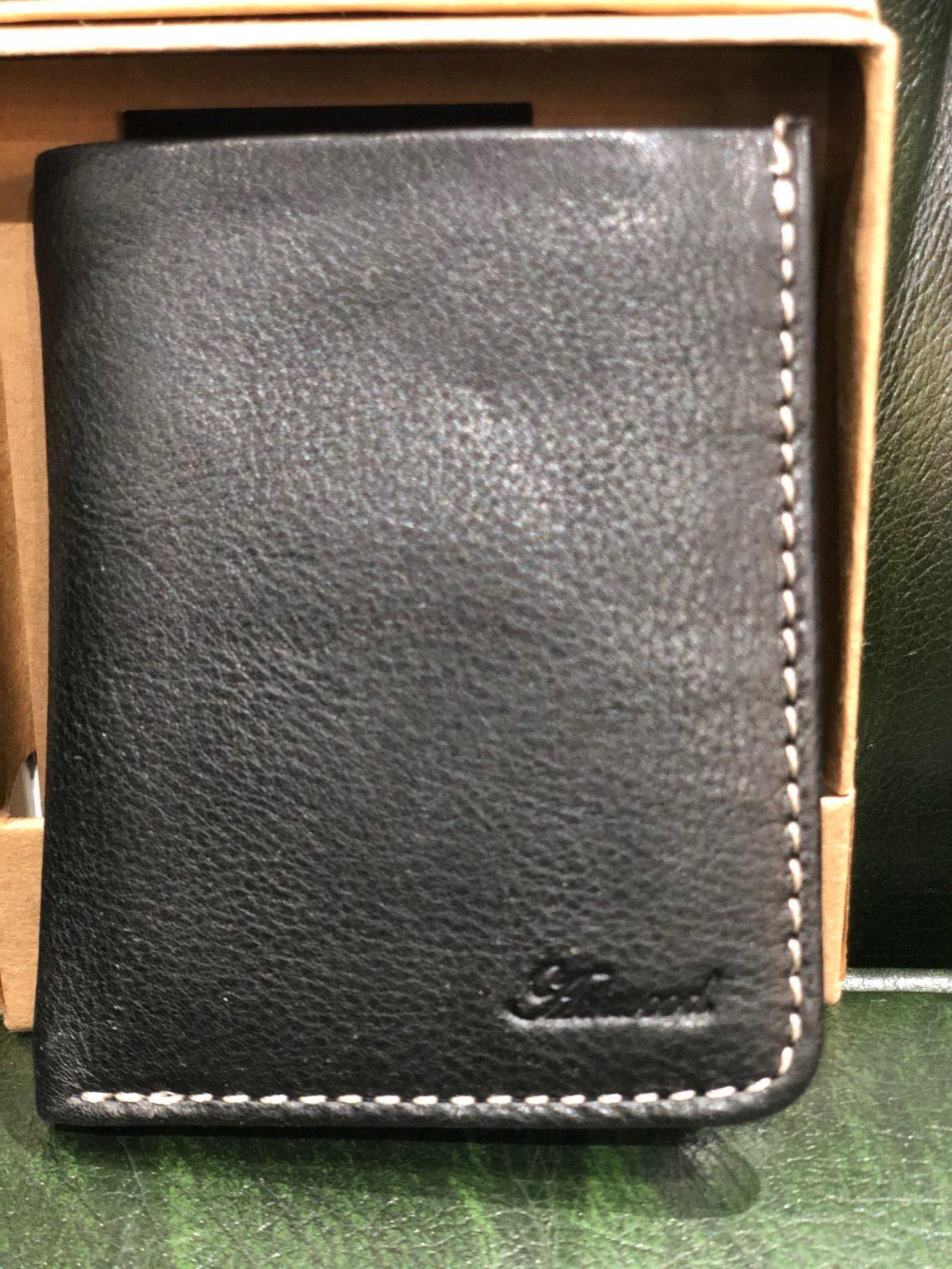 Ashwood Leather Wallet in Black or Tan