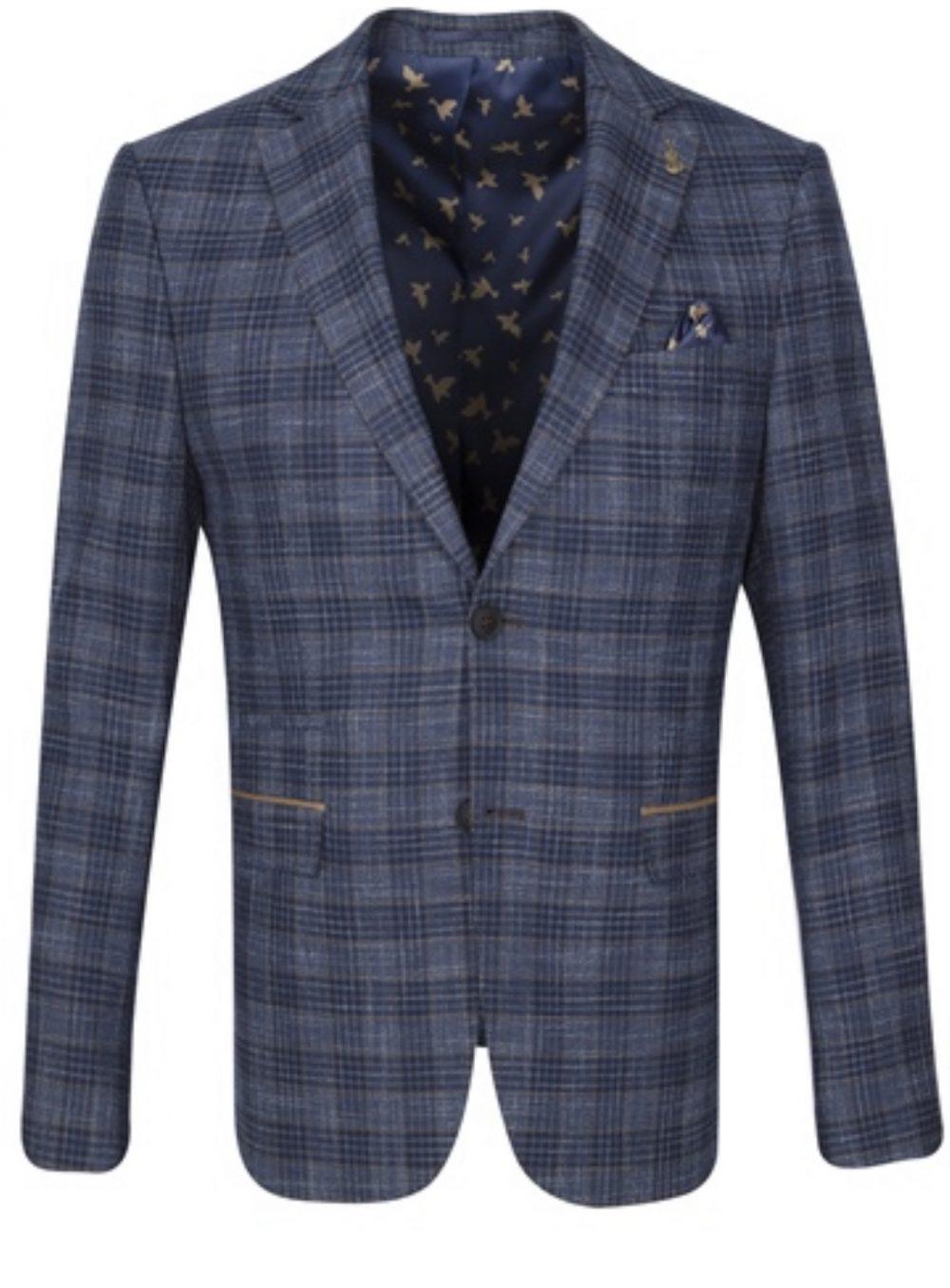 Fratelli Textured Check Blazer